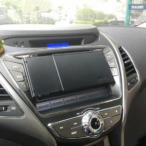 Image 2 - Universal รถ GPS Navigator Sun Visor Sunshade หน้าจอ Hood Visor Navigator Companion จอแสดงผล Light Barrier จัดส่งฟรี