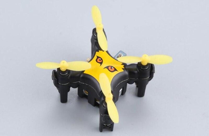 2018 poche chaude MINI RC Drone garçon jouet 2.4G 6 axes gyroscope une clé démarrage 3D rouleau capteur de gravité RC quadrirotor hélicoptère meilleur cadeau - 3