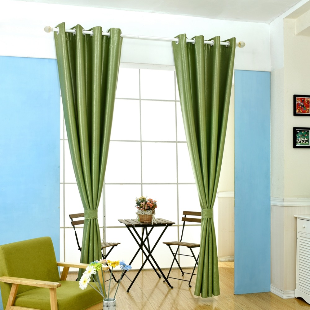 envo libre cocina moderna cortinas cortinas de la sala de en el hogar slido ventana dormitorio para la decoracin