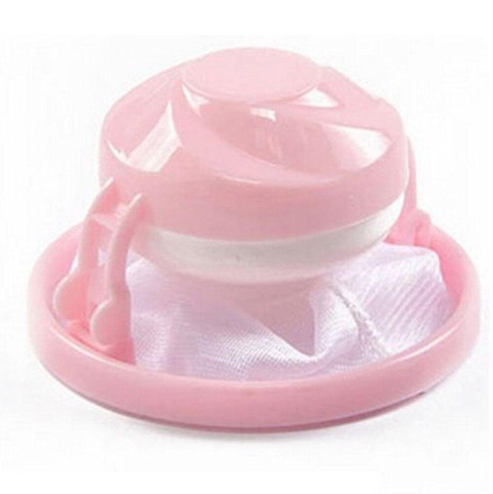 Домашнее плавающее удаление волос Catcher сетчатый мешок для стиральной машины, прачечной фильтр мешок стильные трусы haren vanger васмашина haarvanger - Цвет: Pink