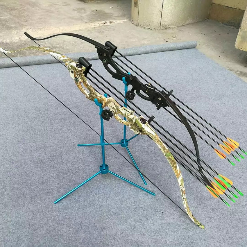 """48"""" 20lbs Kids Youth Camouflage Takedown Recurve Bow Outdoor Sports Gym Archery Games Target Shooting Practice Bow"""