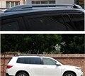 Hight Quality Black Roof Rack Side Bars Rails Luggage Carrier For 07 08 09 10 11 Toyota Highlander 2007 2008 2009 2010 2011 2012