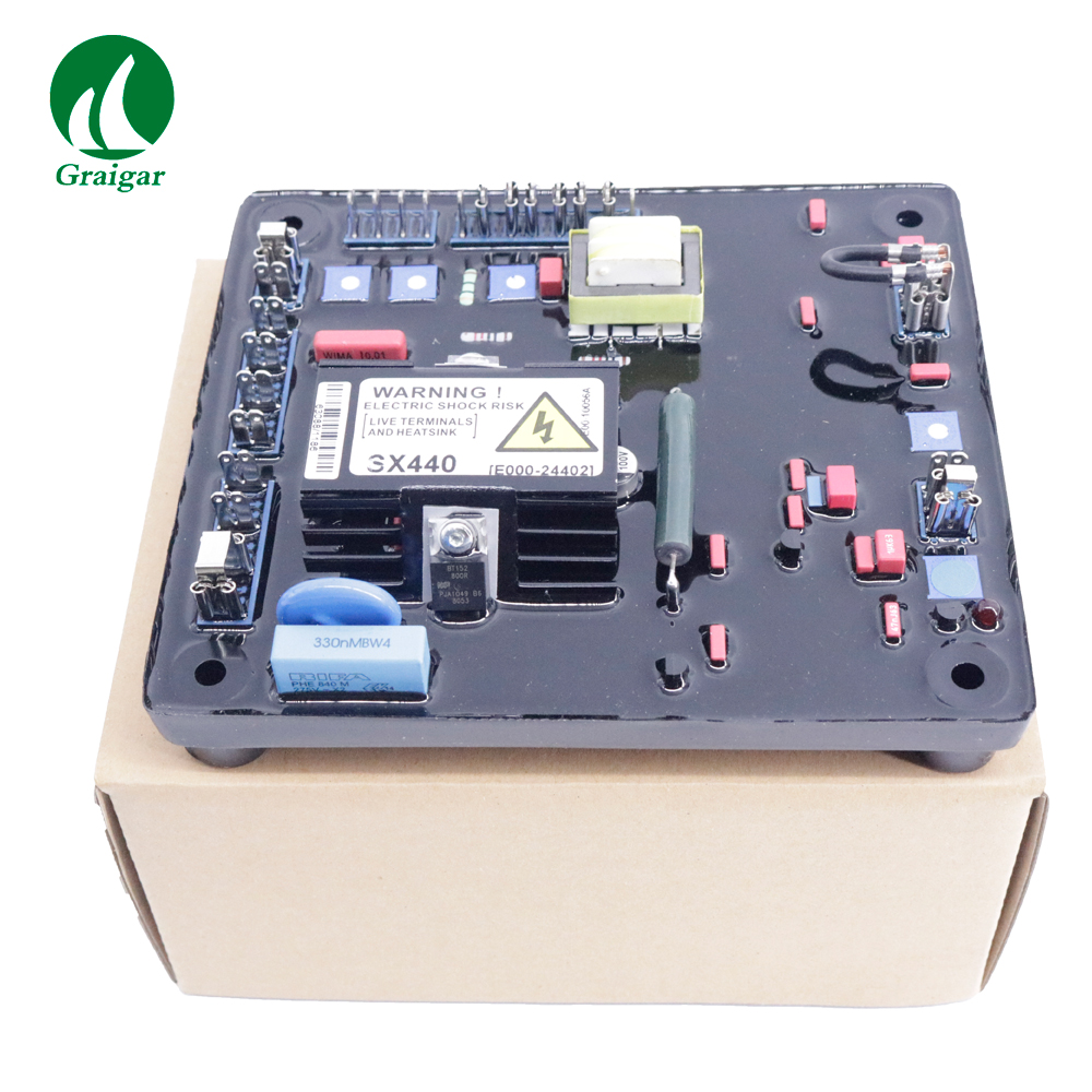 SX440 Half-wave Phase-Controlled Thyristor Type Automatic Voltage Regulator (AVR) SX440 Red AVRSX440 Half-wave Phase-Controlled Thyristor Type Automatic Voltage Regulator (AVR) SX440 Red AVR