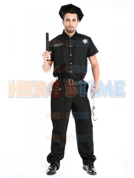 Adults Men Police Cosplay Costume Male Halloween Costume-in Movie u0026 TV costumes from Novelty u0026 Special Use on Aliexpress.com | Alibaba Group  sc 1 st  AliExpress.com & Adults Men Police Cosplay Costume Male Halloween Costume-in Movie ...