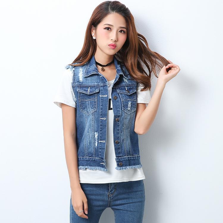 3XL 4XL 5XL Plus Size Denim Jacket Women Korean 1