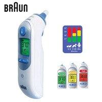 براون مضيئة ميزان الحرارة IRT6520 مقياس الحرارة الدقة الأذن ميزان الحرارة الرقمية شاشات الطفل الرعاية الصحية HK الإصدار-في مقاييس الحرارة من الأمهات والأطفال على