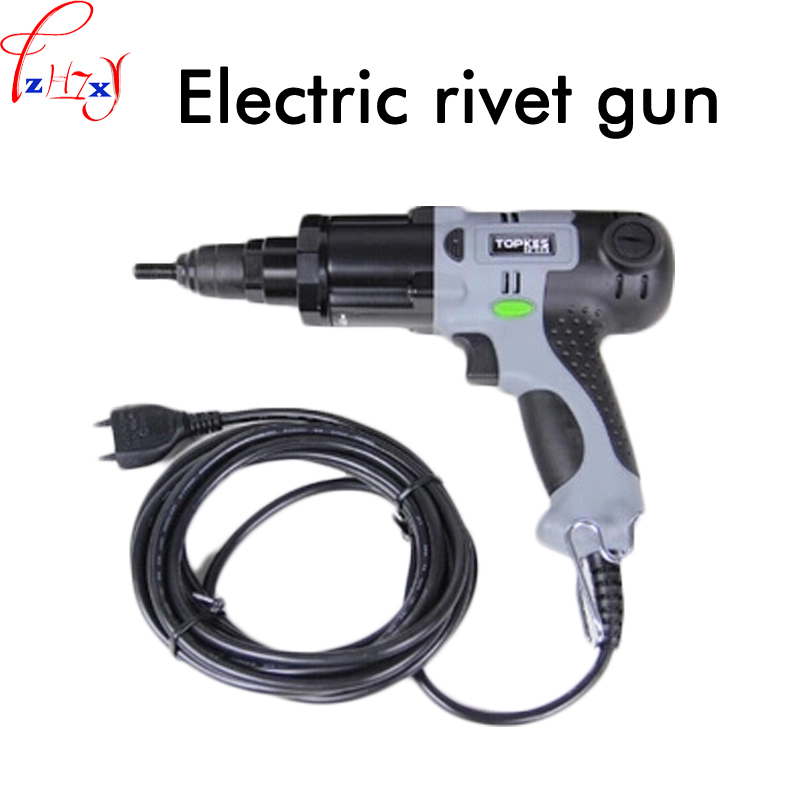 1pc Electric Riveting Nut Gun ERA-M10 Electric Riveting Gun Plug-in Electric Cap Gun Riveting Tools 220V