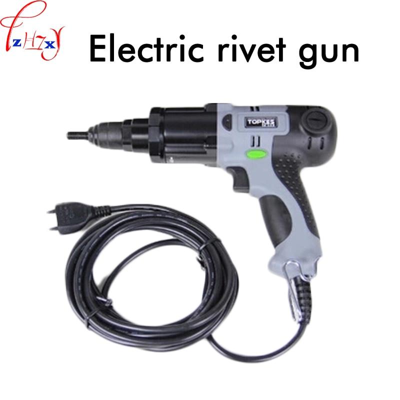 1pc Electric Riveting Nut Gun ERA-M10 Electric Riveting Gun Plug-in Electric Cap Gun Riveting Tools 220V