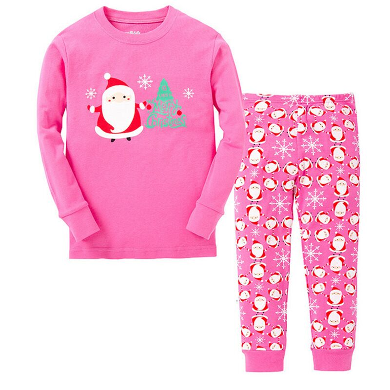 d66da17f6c3b 2017 Baby Boys Girls Christmas Pajamas Kids Long Sleeve Xmas PJS ...