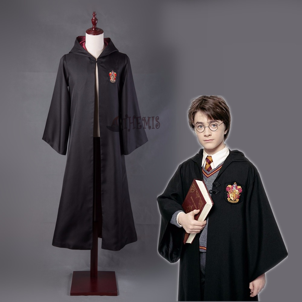 Hogwarts Harri Potter cosplay Ravenclaw/Gryffindor/Hufflepuff/Slytherin Cosplay Costumes Malfoy Hermione Suit