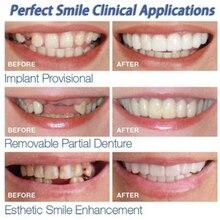Beautiful Instant Dental Veneers Smile Comfort Fit Flex Cosmetic Teeth Denture Teeth Top Cosmetic Veneer