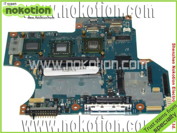 Laptop Motherboard for Toshiba R10 series FMWSY2  A5A002507010A mother boards DDR3 Mainboard free shipping laptop motherboard for toshiba a205 a200 v000108040 integrated ddr2 mainboard full tested free shipping