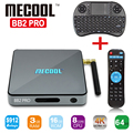 Mais novo S912 BB2 PRO Android Tv Box Amlogic Octa núcleo 3 GB/16 GB Android 6.0 Tv Box 2.4G/5 GHz WiFi BT 4.0 1000 M LAN 4 K 2 K Jogador