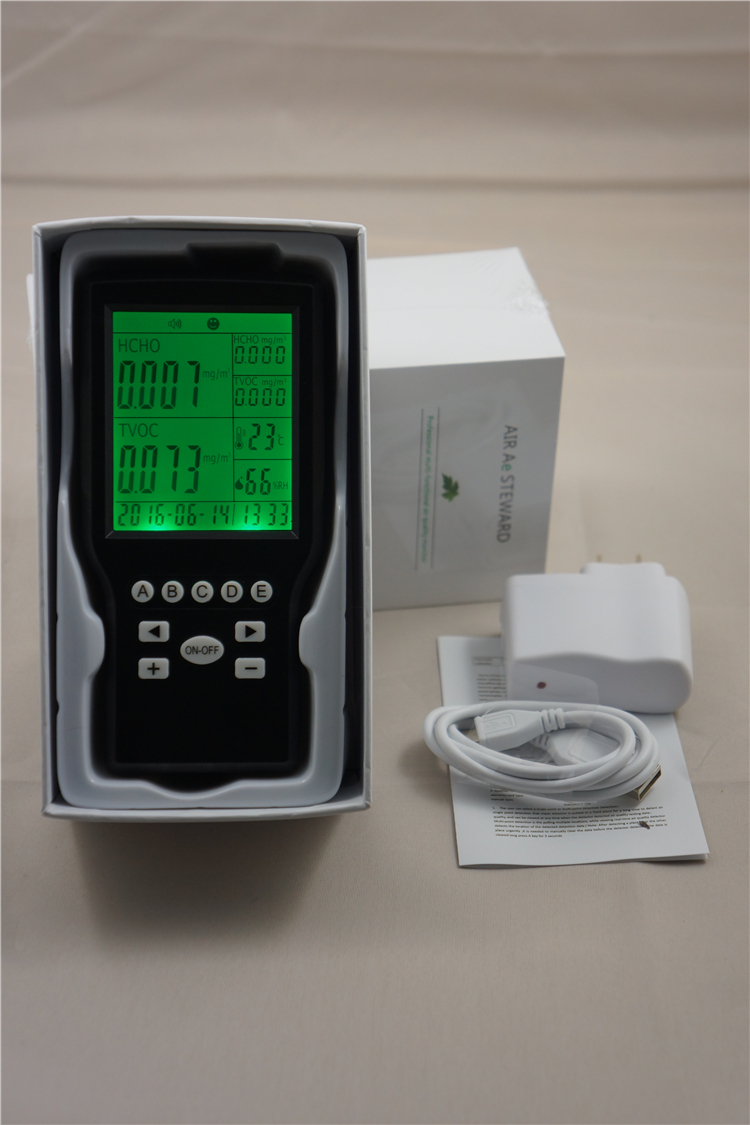 Formaldehyde Detector Indoor Air Quality monitor Desktop Indoor Air   Quality Monitor az 7788 desktop co2 temperature humidity monitor data logger air quality detector
