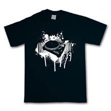DJ TURNTABLES T-SHIRT Decks Turntable DJing Hip Hop Dubstep Technics Techno 100% Cotton T Shirts Brand Clothing Tops Tees