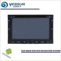 YESSUN автомобильный Android навигационная система для peugeot 307 2001 ~ 2013 Радио стерео CD DVD плеер с gps навигатором BT HD экран мультимедиа