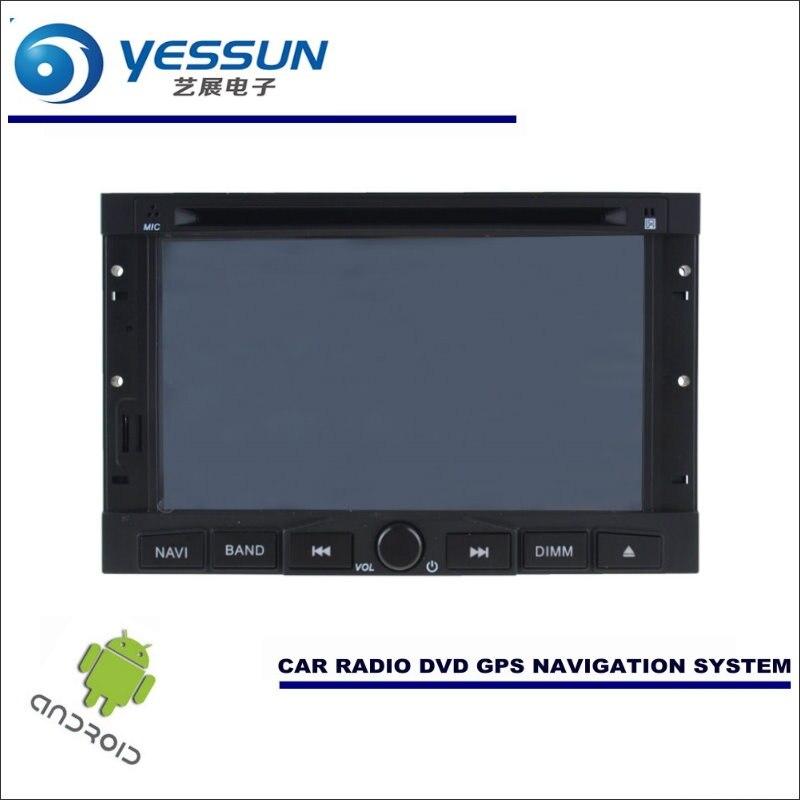 YESSUN font b Car b font Android Navigation System For Peugeot 307 2001 2013 font b