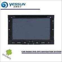 Yessun автомобиля Android навигации Системы для Peugeot 307 2001 ~ 2013-Радио стерео CD dvd-плеер GPS Navi BT HD Экран мультимедиа
