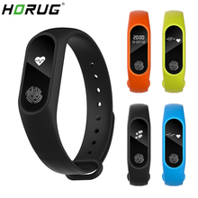 HORUG Smart Wristband Band Smartband Fitness Tracker Bracelet Blood Pressure Pedometer Sport Heart Rate Monitor