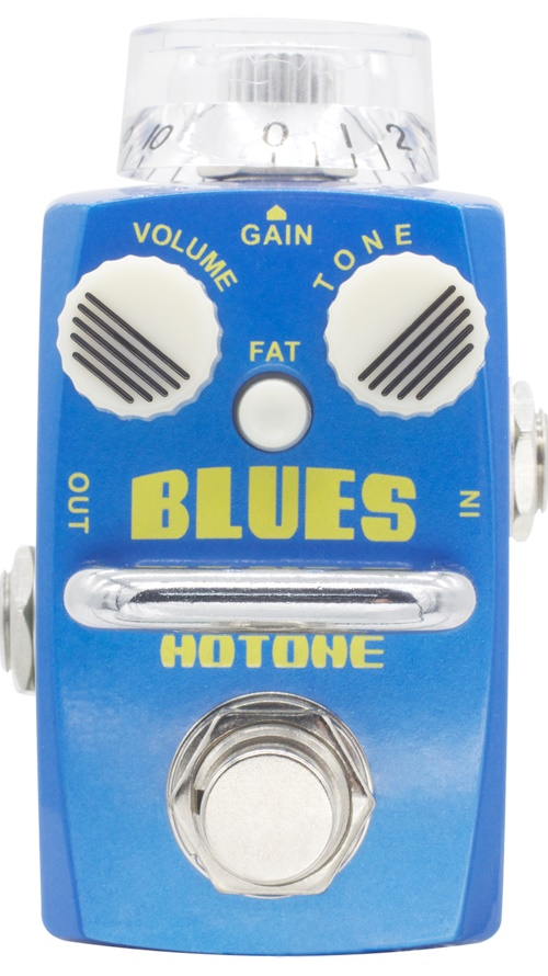 ФОТО Hotone Skyline Series BLUES Overdrive Pedal with Free Pedal Case and More
