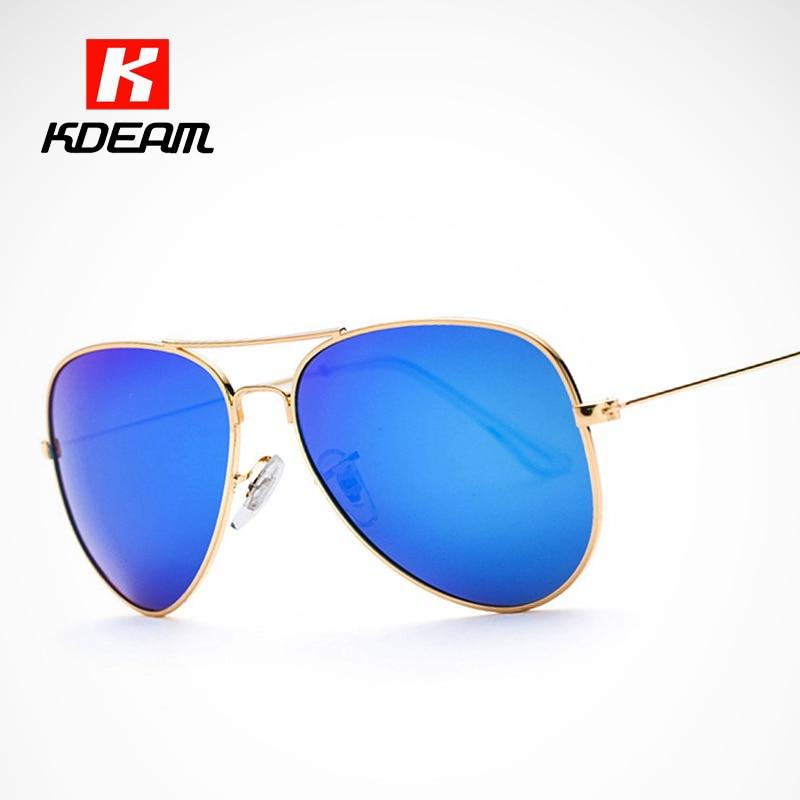 Um Design intemporal Clássico Polarizada Óculos De Sol Dos Homens 58mm Lente  Verde Óculos de Sol Mulheres gafas de sol polarizadas KDEAM 56f74a6a82