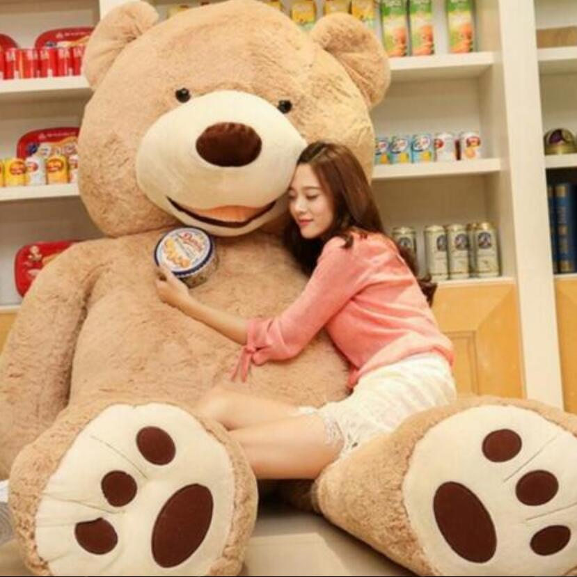 Selling Toy Big Size 200cm American Giant Bear Skin ,Teddy Bear Coat ,Good Quality Factary Price Soft Toys For Girls 2018 high quality 200cm giant teddy bear