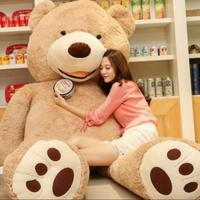 Selling Toy Big Size 200cm American Giant Bear Skin ,Teddy Bear Coat ,Good Quality Factary Price Soft Toys For Girls