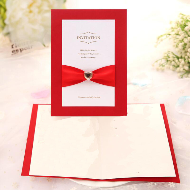 30pcs lot elegant engagement wedding invitation card folding design