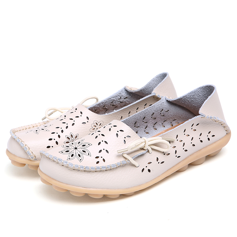 c32d9b39074c DoraTasia whoelsale dropship Soft genuine Leather women Shoes Woman flats  Loafers Lady shoe Female Casual Driving Walking shoes - Trendy Shoes Outlet