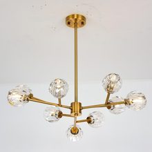 Modern Crystal Lamp Design Led Chandeliers Ceiling Living Room Foyer Light Fixtures Decor Home Lighting Copper Metal Lustre G9 цена в Москве и Питере