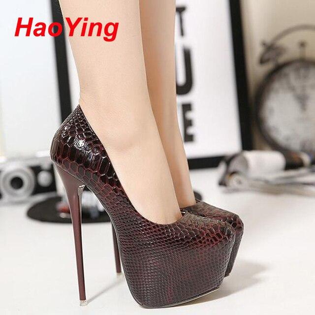 e533d37db3 Zapatos de noche mujeres bombas tacones altos zapatos atractivos tacones de  plataforma sapatos femininos zapatos de