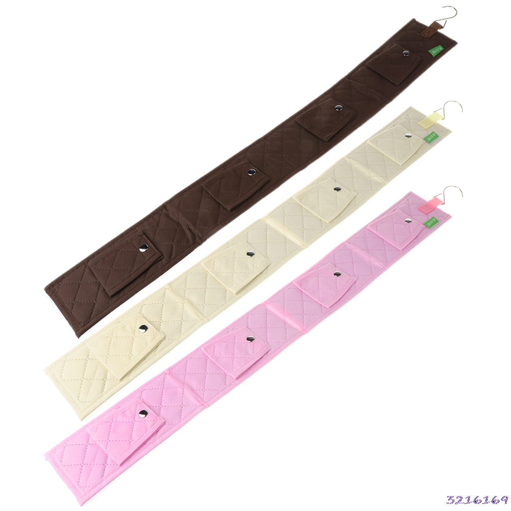 Hanging Handbag Closet Purse Storage 6 Hook Door Hat Bag Strap Belt Clothes Rack