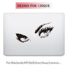 Красота Сексуальные глаза Ноутбук наклейка Наклейка для Apple Macbook Pro Air retina 11 12 13 15 дюймов винил Mac hp Mi поверхность книга кожи наклейка