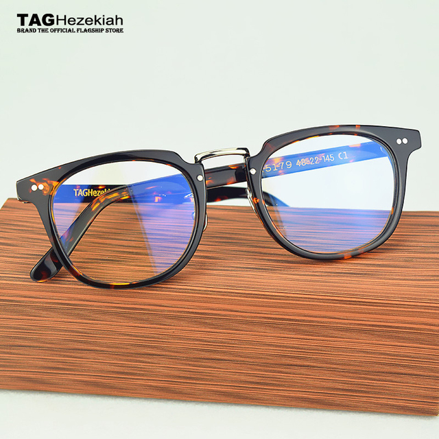 TAG Ezéchias lunettes cadre 2017 Marque designer femmes hommes rétro Myopie  rayonnement d ordinateur lunettes 9f3f88e97977