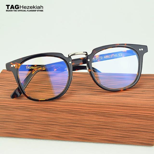 300ec1d989 TAG Hezekiah glasses frame 2017 Brand designer women men retro Myopia  computer radiation eyeglasses frames oculos de grau nerd