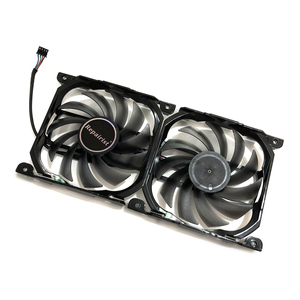 Image 4 - 2pcs/set 4Pin CF 12915S GPU Cooler Fan VGA Card Fan For InnoVISION INNO3D Graphics Video Cards Cooling as Replacement