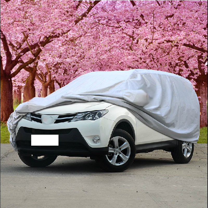 SUV universal Car covers fit for Tiguan for Outlander Wagon hatchback snow Dust Protection car cover sun shade hood full cover(China)