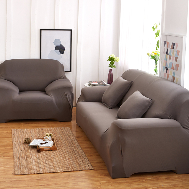 YIBALI Universal Sofa Abdeckung Für Wohnzimmer Sofa Elastischen Hussen  Billige Baumwolle Couch Abdeckung 1/2
