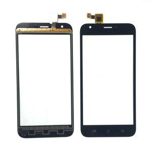 Image 1 - מגע מסך חיישן עבור ארון תועלת S502 בתוספת לוח מגע Digitizer חזית זכוכית עדשת מגע משלוח 3m מדבקות