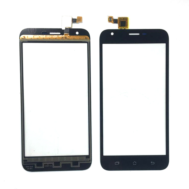 מגע מסך חיישן עבור ארון תועלת S502 בתוספת לוח מגע Digitizer חזית זכוכית עדשת מגע משלוח 3m מדבקות