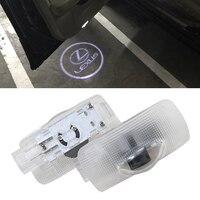 2 Stücke FÜHRTE Projektor Tür Schatten Licht Laser Emblem Logo Licht für Lexus LS/ES 300/IST/IST 250/RS GS350/GX/RX 330 Willkommen licht