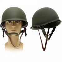Free Shipping M1 Replica Helmet With Inner Helmet WW2 M1 Helmet WWII U.S M1 Steel Helmet