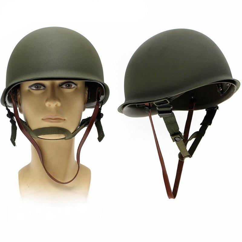 Sicherheit & Schutz Arbeitsplatz Sicherheit Liefert Kostenloser Versand M1 Replica Helm Mit Inneren Helm Ww2 M1 Helm Wwii Us M1 Stahl Helm Die Nieren NäHren Und Rheuma Lindern