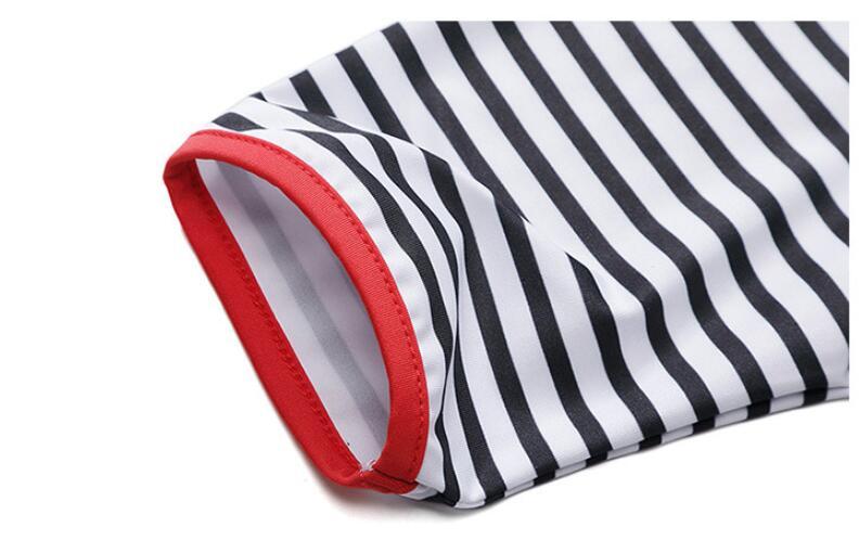 senhoras short-manga gola Zipper t-shirt de golfe