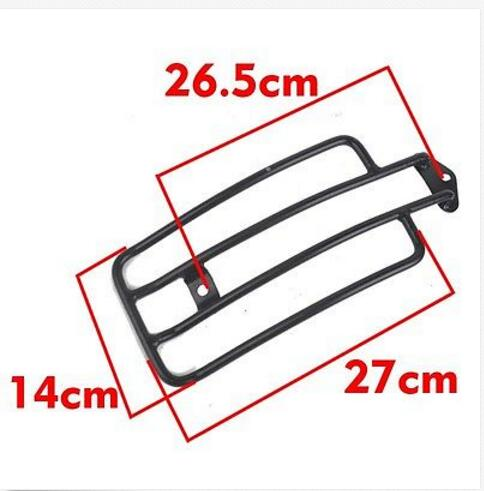 Black Solo Seat Luggage Rack Fit Suitable for Harley Davidson Honda Yamaha  Suzuki Kawasaki motorcycle solo seat luggage rack suitable for harley davidson sportster xl883 1200 xl48 silver