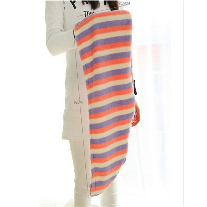 25x62 cm Lady's Bath Towel Cap With Super Absorption Material For Woman 5