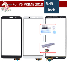 5.45 Touchscreen For Huawei Y5 PRIME 2018 DRA-L02 DUAL DRA-L22 Touch Screen Panel Sensor Digitizer Front Glass Outer Lens
