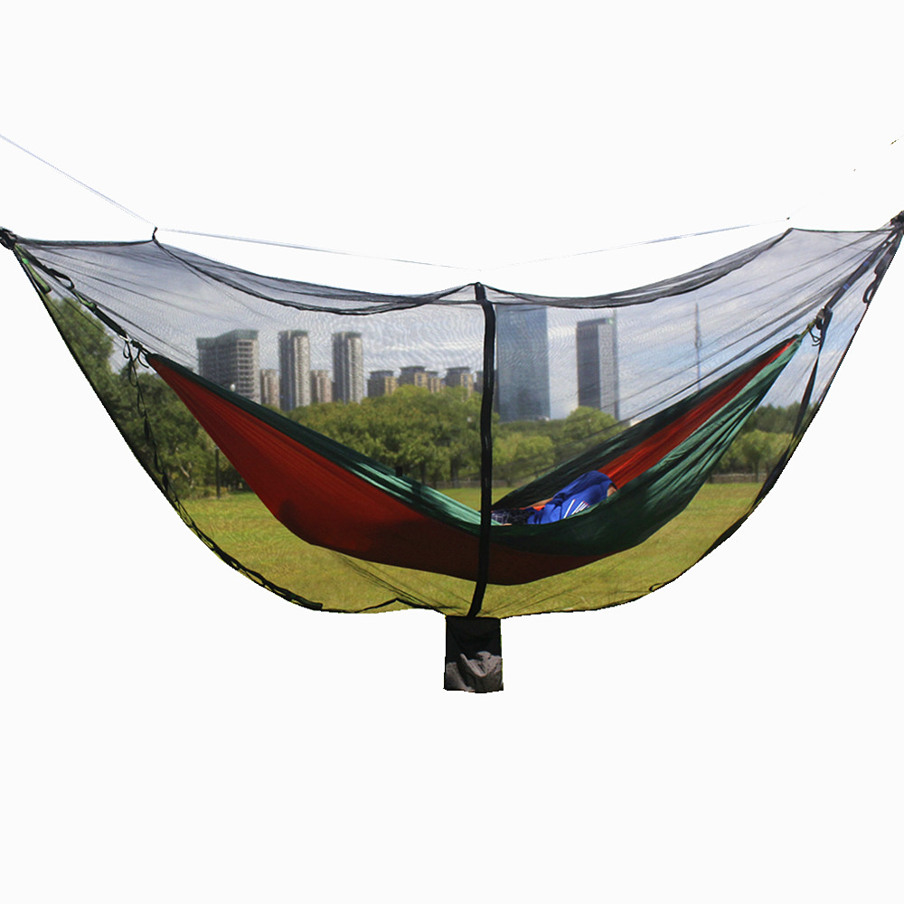 Outdoor Tools Outdoor Ultra-light Portable Hammock Mosquito Account Survival Nylon Material Anti-mosquito