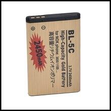 O dużej pojemności złoty BL-5C bateria do telefonu Nokia 2610 1100 1110 1112 1116 6230 6630 N70 N71 N72 N91 E60 baterii 5C BL5C