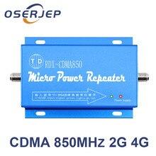 850 MHz משחזר 2G 3G 4G GSM LTE UMTS CDMA Booster 850 MHz הנייד/טלפון סלולרי אות Repetidor לא כולל אנטנה